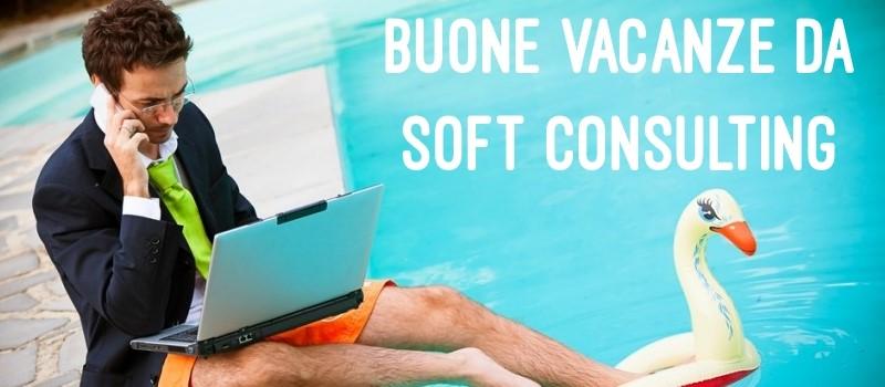 Buone vacanze da Soft Consulting